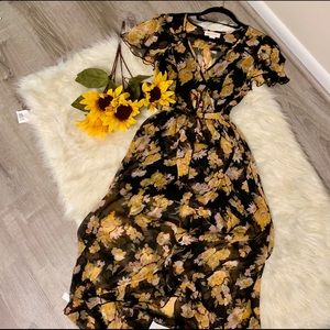 Band of gypsies dress floral size small